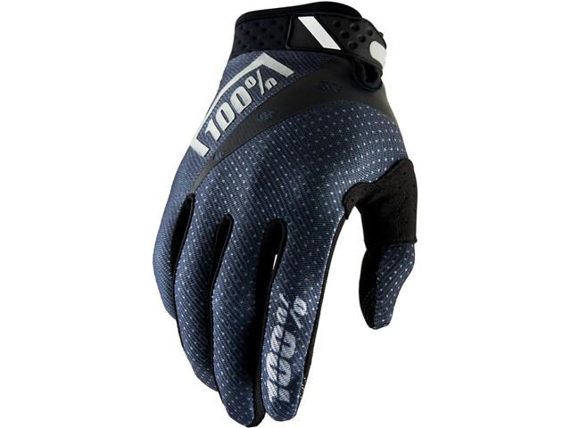 100% Ridefit Gloves black